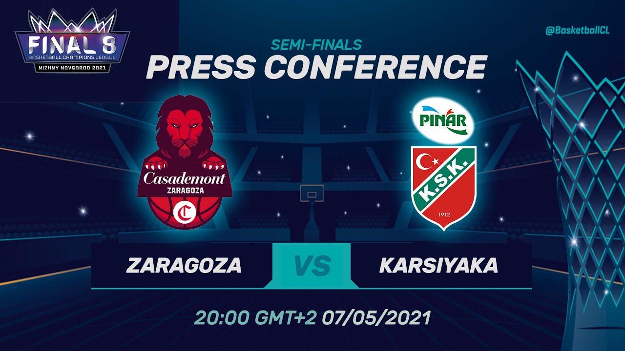 Casademont Zaragoza v Pinar Karsiyaka - Press Conf. | Basketball Champions League 2020/21