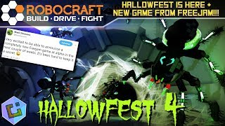 Robocraft - Hallowfest is here & NEW Game from Freejam!!!