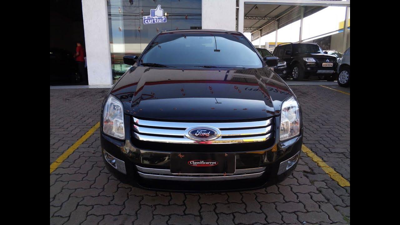 Ford Fusion Sel 2 3 16v Automatico