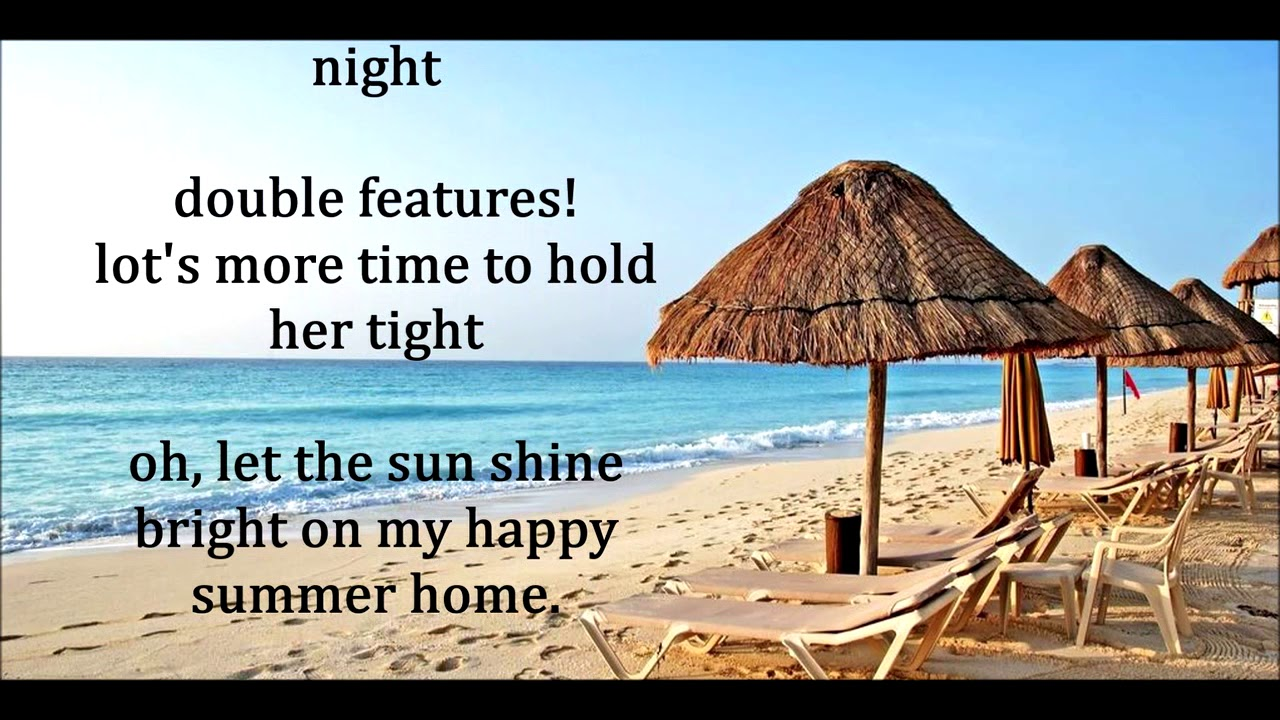 b40104c3b81e6 Here Comes Summer CLIFF RICHARD & THE SHADOWS (with lyrics) - YouTube