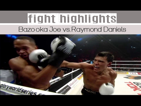 Bazooka Joe Valtellini vs. Raymond Daniels - Glory 13 Fight