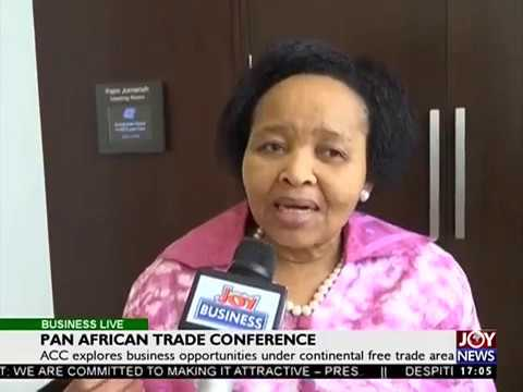 Pan Africa Trade Conference - Business Live on JoyNews (12-9-17)
