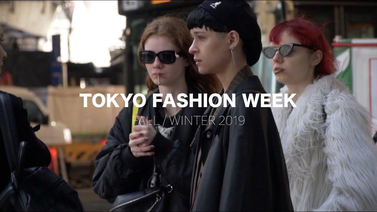 일본 패피들 성지 도쿄 패션위크 Street Style Tokyo Fashion Week Fall / Winter 2019  day1