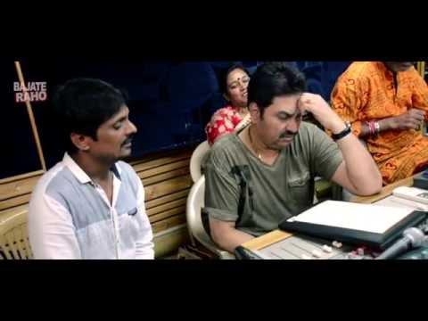 Kumar Sanu SONG RECORDING   Sana STUDIO   Bollywood FIlm   HINDI FILM   STUDIO Recording