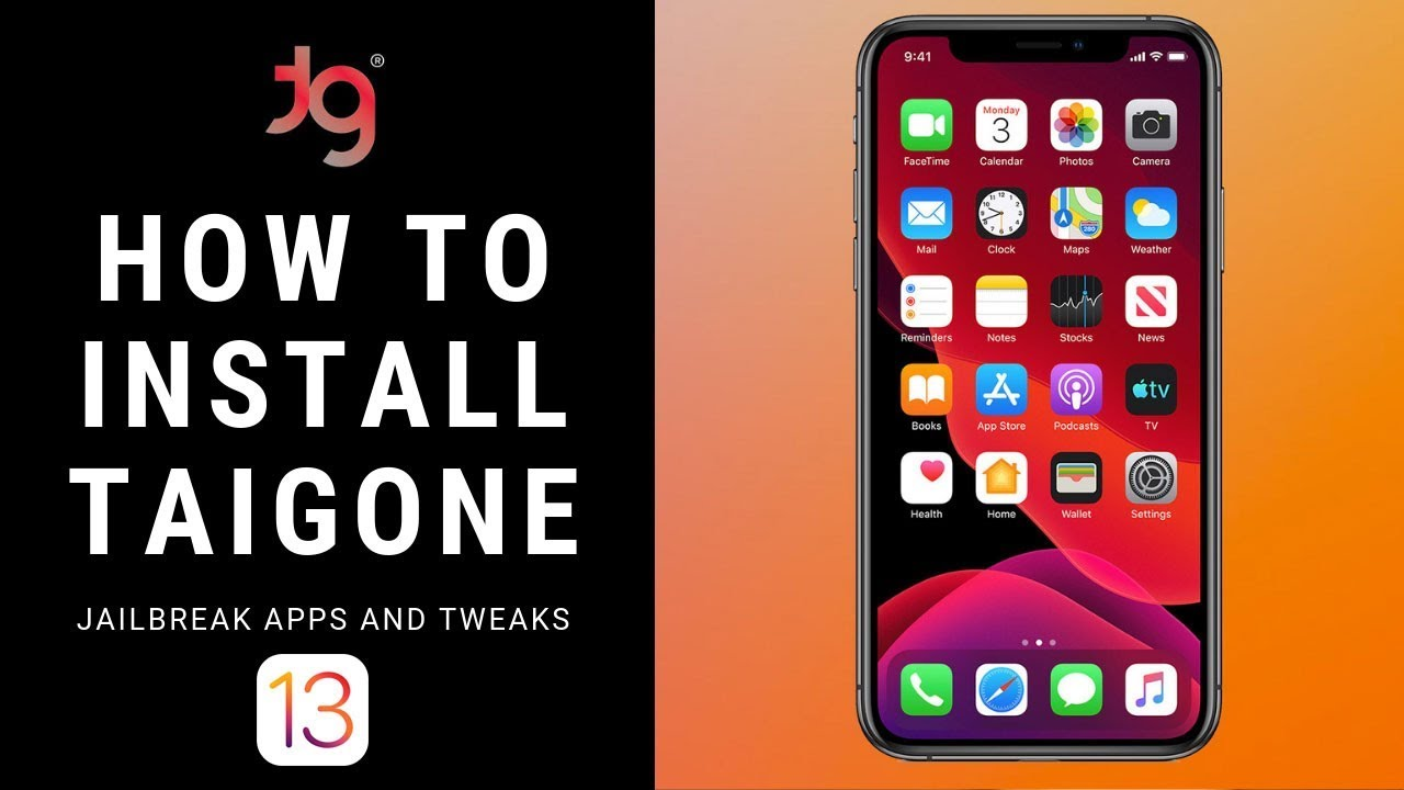 How to Install TaigOne Jailbreak for iOS 13 Jailbreak Needs [iOS 13  Jailbreak]