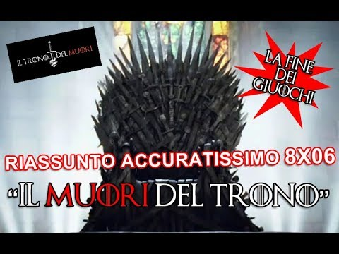 """Download RECENSIONE GAME OF THRONES 8x06 RIASSUNTO ACCURATISSIMO """"IL MUORI DEL TRONO"""""""