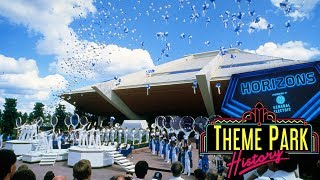 The Theme Park History of Horizons Epcot
