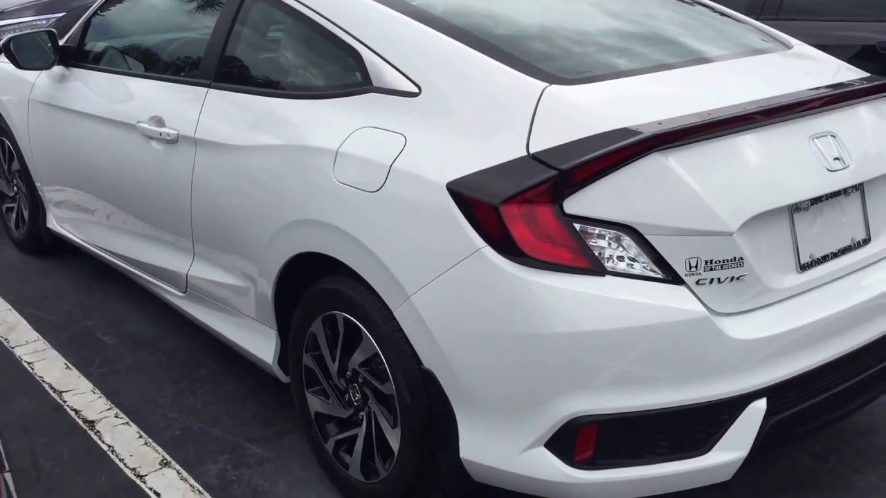 2016 Civic 2 Door
