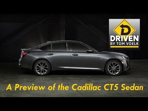 Cadillac CT5 Sport Sedan Preview