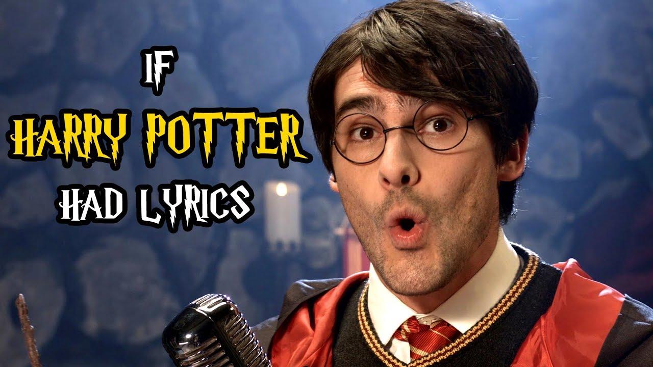 If The Harry Potter Song Had Lyrics Youtube
