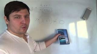 Алгебра 9 класс. Область определения функции