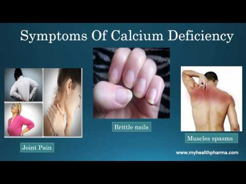 Common Causes And Symptoms Of Calcium Deficiency