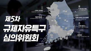 5차 규제자유특구 심의위원회 (3차 선정)
