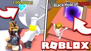 We TRIED to steal a MILLION ROBUX DIAMOND... but instead we LOST a friend! (Roblox)