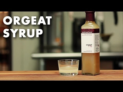 Orgeat Syrup - Product Spotlight Video