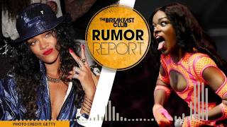 Azealia Banks Feuds With Rihanna: 'Shut Up and Sit Down'