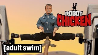 Robot Chicken | Jean Claude Van DAMN! | Adult Swim UK 🇬🇧
