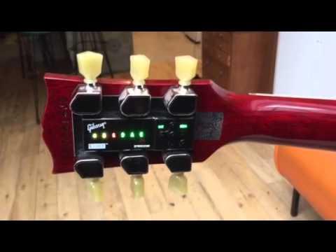 L' accordage automatique de la Gibson SG 2015 - YouTube