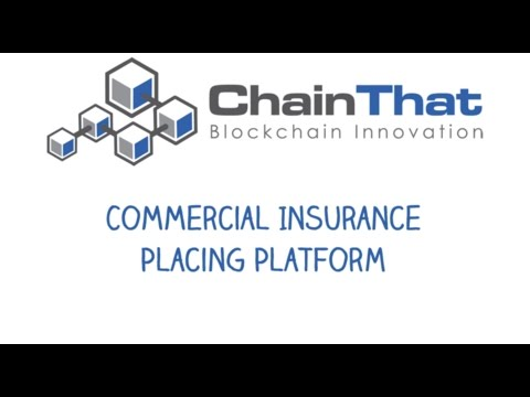 ChainThat's Insurance Platform Demo - (blockchain and smart contracts)