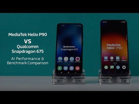 MediaTek Helio P90 vs Qualcomm Snapdragon 675: AI Performance & Benchmark Comparison
