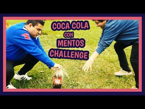 COCA COLA CON MENTOS CHALLENGE - Ariana Bolo Arce