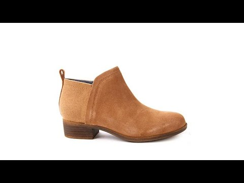3d0b302702e TOMS Deia Suede and Wool Ankle Bootie - YouTube