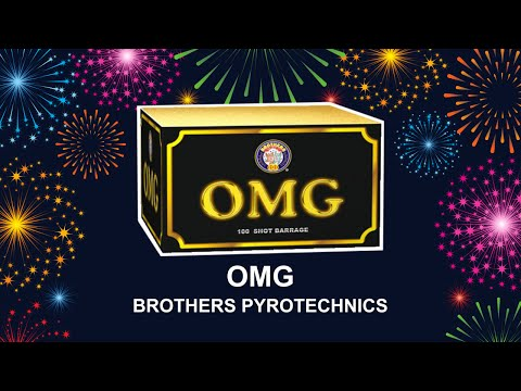 OMG - Brothers Pyrotechnics (Fireworks, Cambridge)