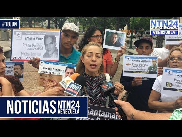 Noticias NTN24ve #18Jun
