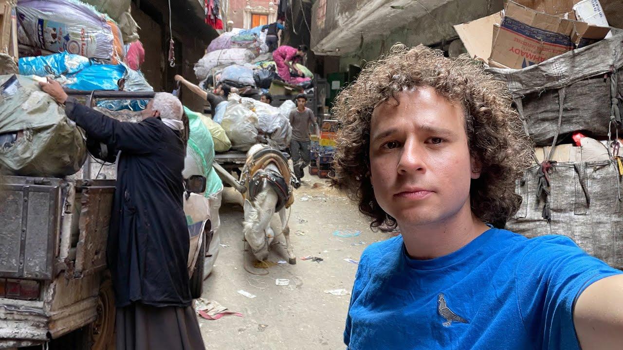 LA CIUDAD DE LA BASURA: vidas entre desperdicios | Egipto 🗑🇪🇬