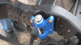 How to install SuperSteer Bell Crank P3032 Chevrolet Workhorse Chassis road wander steering play