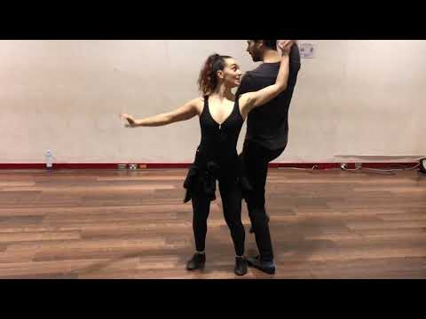 Advanced Salsa Move #441 - The partner swing