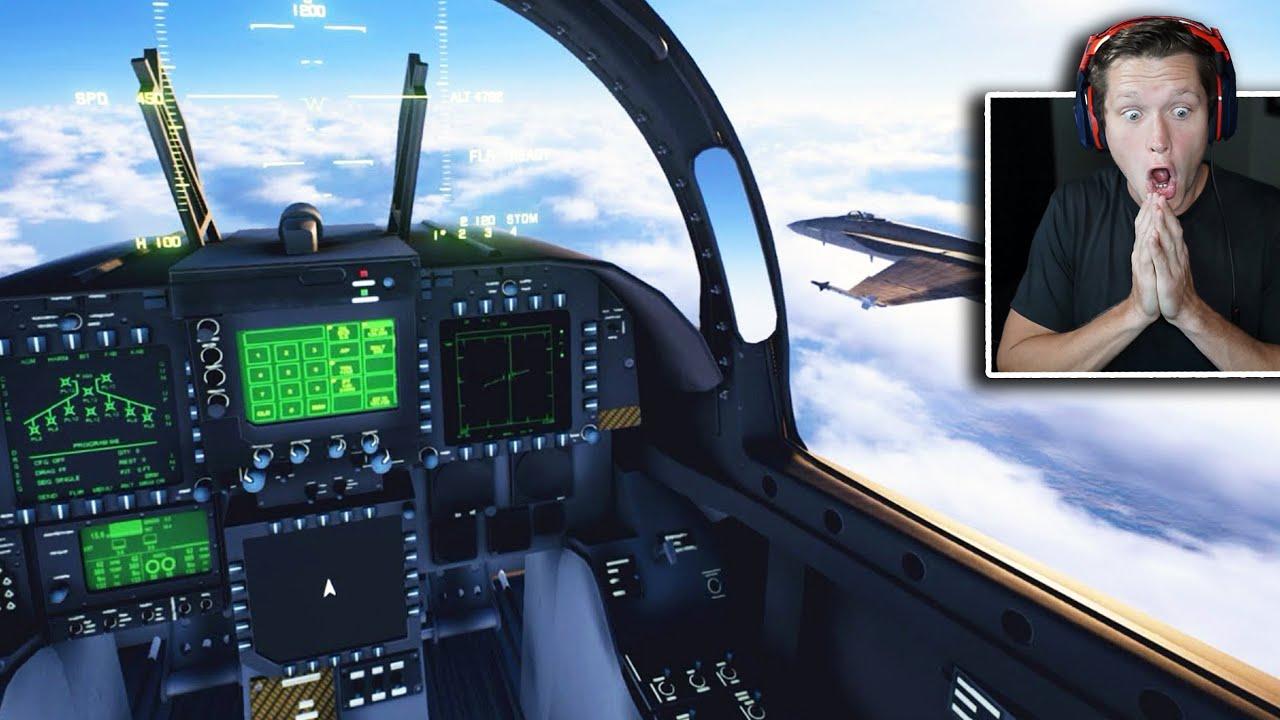 FIGHTER JETS in Microsoft Flight Simulator