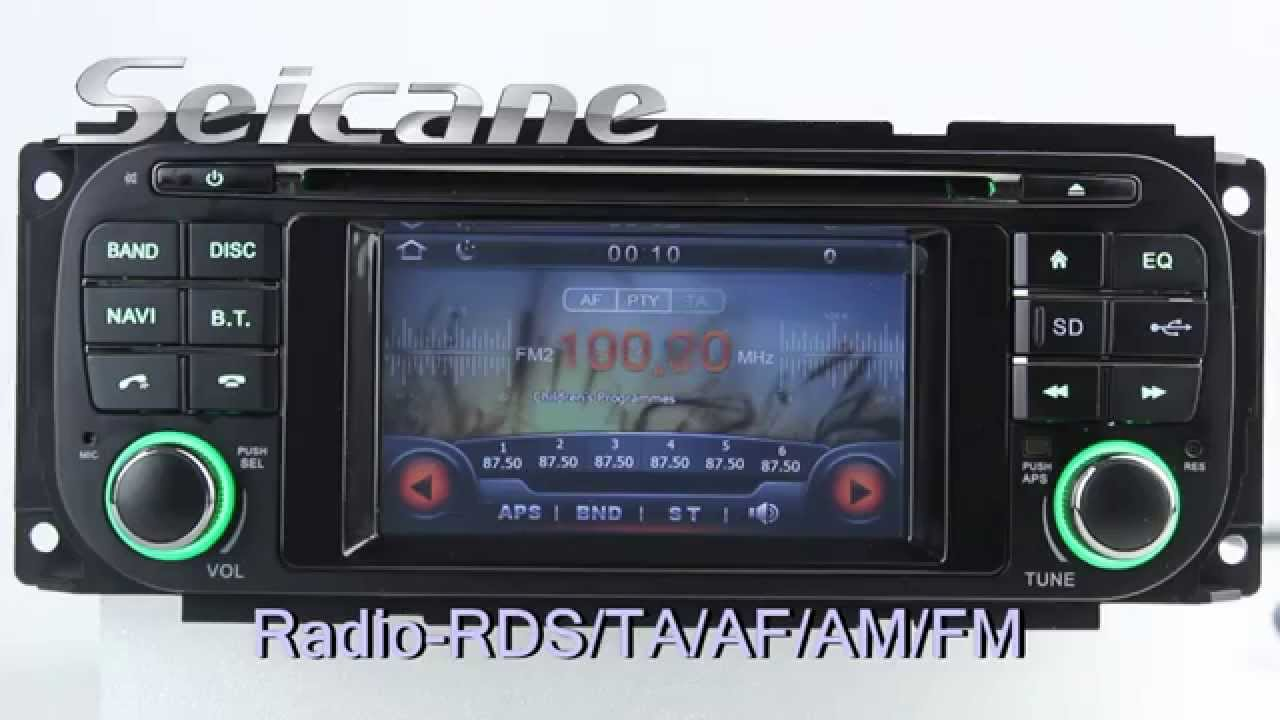 2003 jeep tj stereo wiring diagram monaco rv issues 2003-2005 chrysler pt cruiser removal upgrade to touch screen gps navigation system - youtube