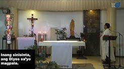 Live 6:45 am Morning Prayer & 7:00am Sunday Mass - May 24, 2020