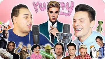 """Justin Bieber - """"Yummy"""" Impersonation Cover (LIVE ONE-TAKE!)"""