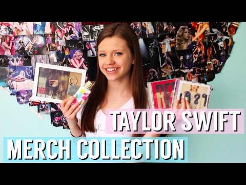 Taylor Swift Merchandise Collection - 2016