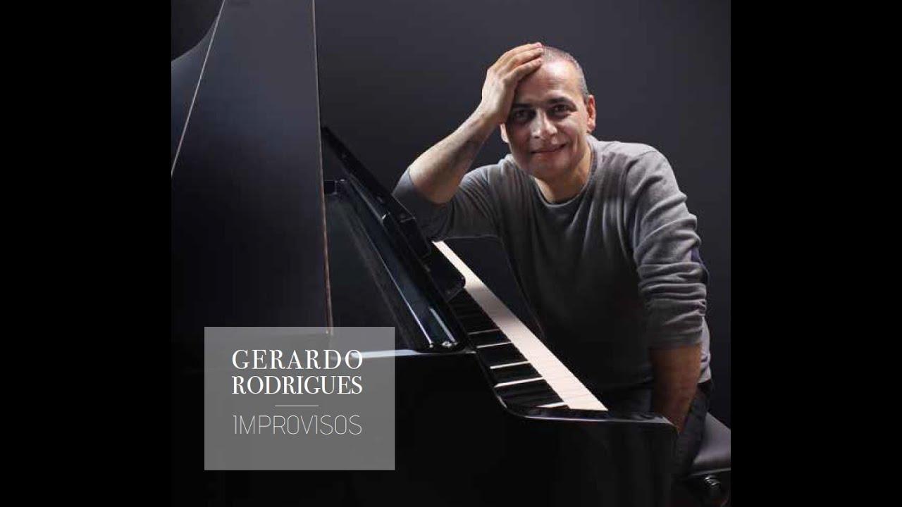 "Prof. Gerardo Rodrigues edita CD ""Improvisos"""