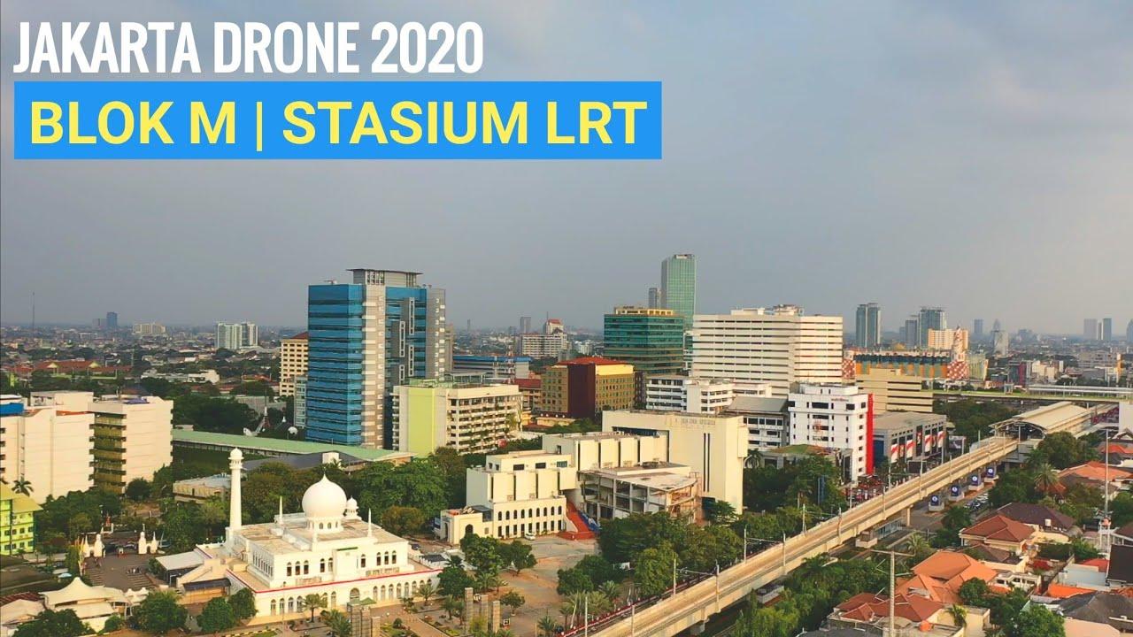 Blok M Jakarta | Drone Footage 2020 | Capital City Of Indonesia