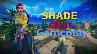 Fortnite BR SHADE skin gameplay with a victory Royale