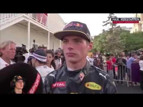 Max Verstappen - Post Qualifying Baku #EuropeGP #F1 2016 (👍Ky)