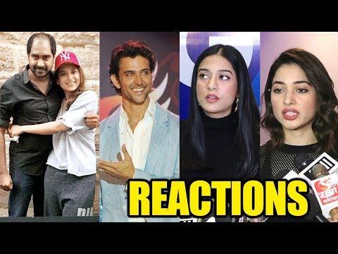 Kangana Ranaut CHEATED KRISH   Bollywood Celebs REACTION On #Manikarnika Controversy