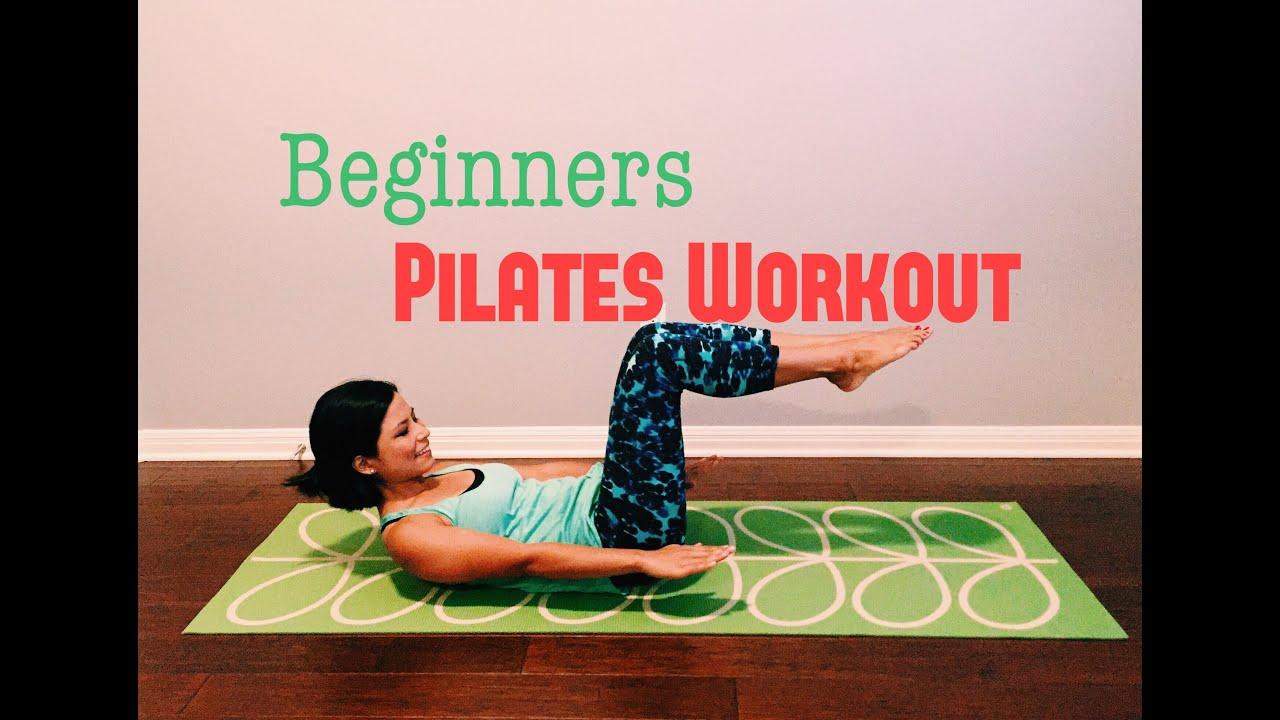 Beginners Pilates Mat Workout Youtube