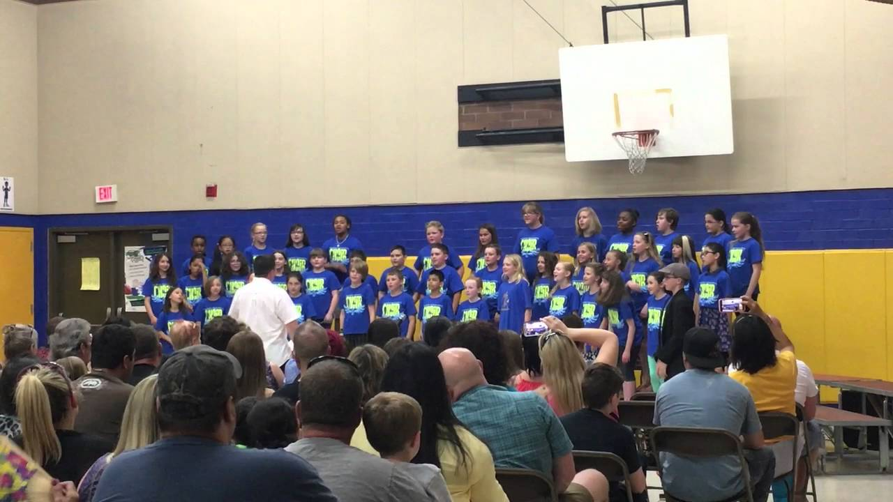 Marshall Elementary Mustangs Choir