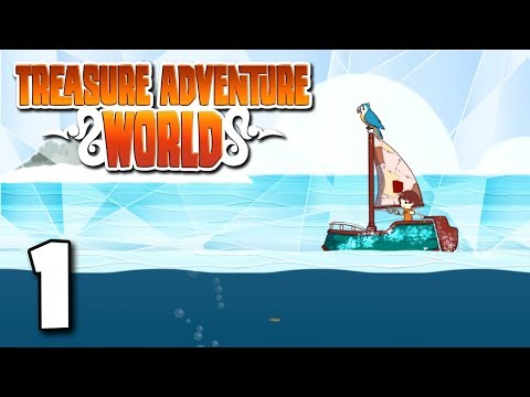 Treasure Adventure World | Episode 1 - Ocean Exploring Puzzle Platformer