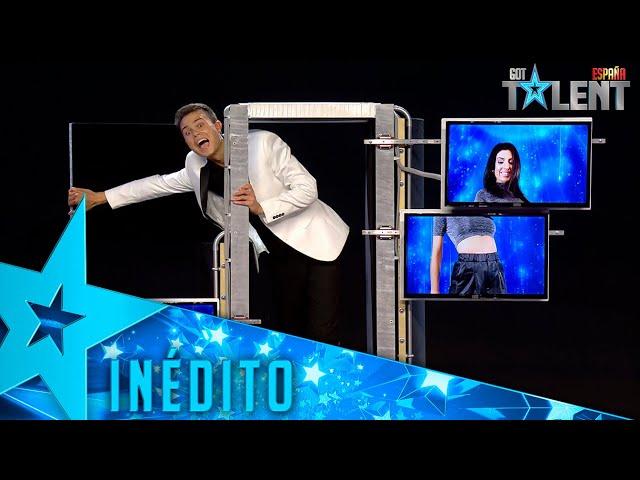 El truco de MAGIA VIRTUAL al que no encontrarás explicación   Inéditos   Got Talent España 2021