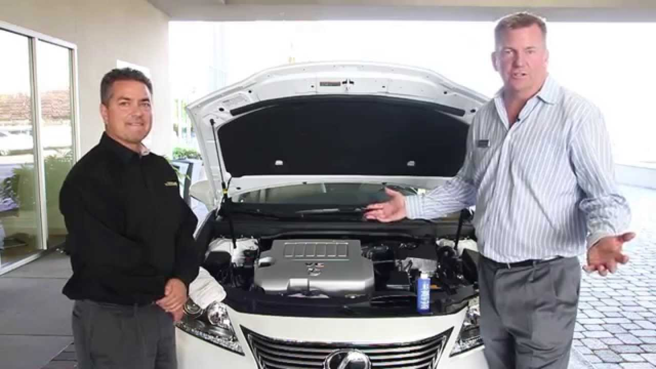 Magnussen Lexus Service Tips: Checking Fluids - YouTube