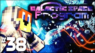 Minecraft Galactic Space Program - #38 Ice Asteroid HOUSE?