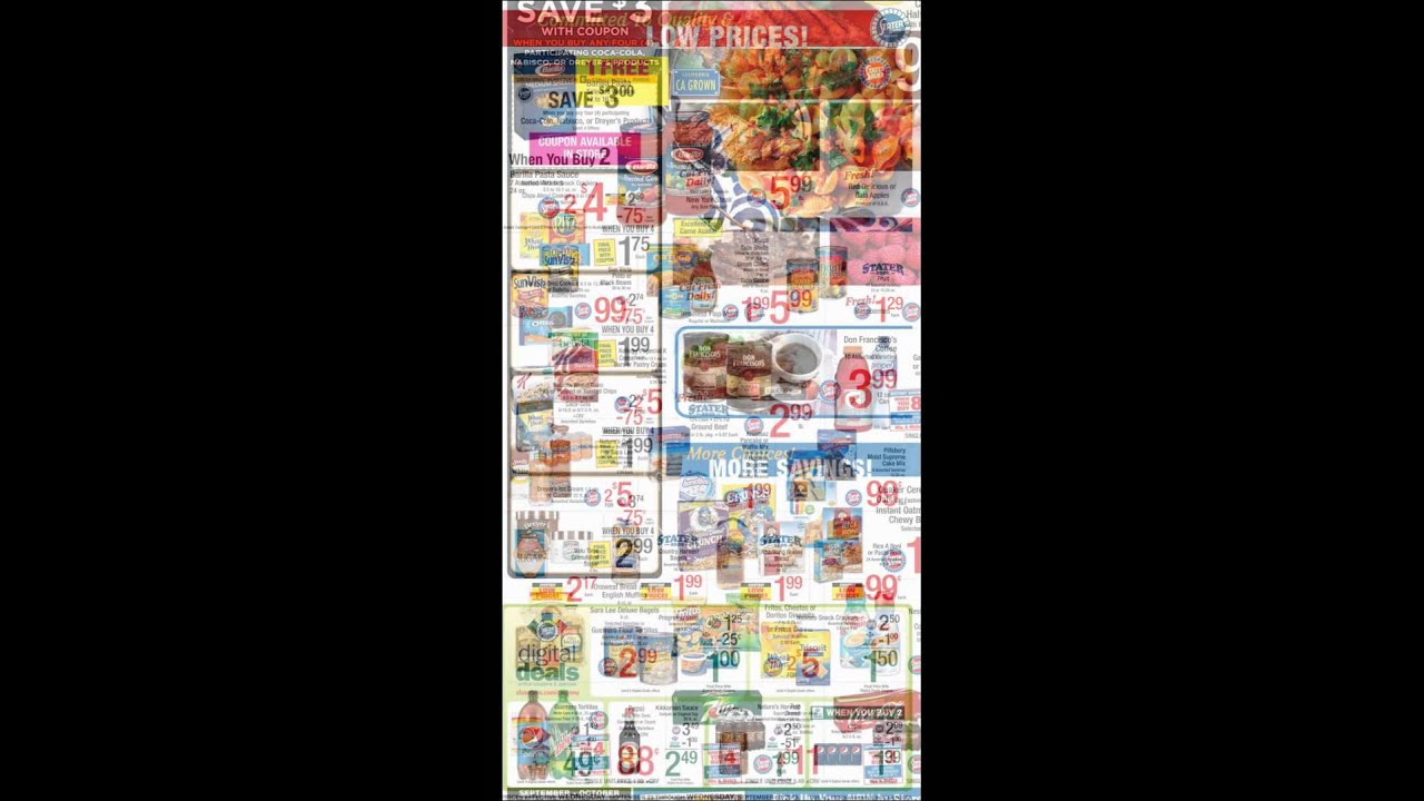 Stater Bros Weekly Ad 2015 Youtube