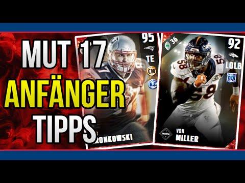 Madden NFL 17 Ultimate Team (MUT17) Tipps und Tricks für Anfänger [Deutsch]