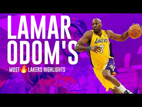 Download Lamar Odom's Most 🔥Lakers Highlights